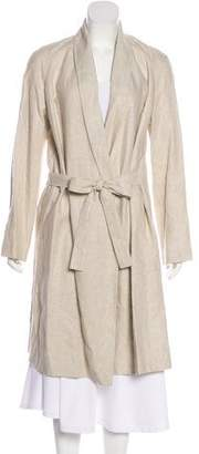 Jenni Kayne Shawl-Lapel Long Coat