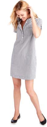 Vineyard Vines Striped Utility Margo Shirt Dress