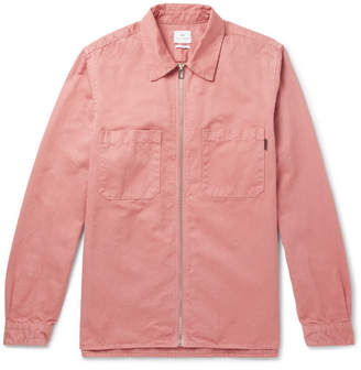 Paul Smith Cotton And Linen-Blend Twill Shirt Jacket