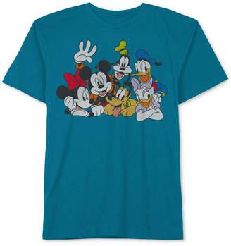 Disney Big Boys Mickey & Friends Graphic-Print T-Shirt