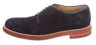 Giorgio Armani Nubuck Derby Shoes