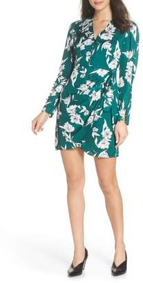 Bardot Side Tie V-Neck Dress