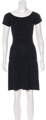 Gerard Darel Knee-Length Knit Dress