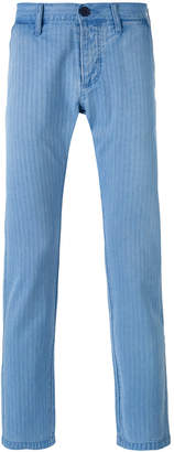 Edwin striped tapered trousers