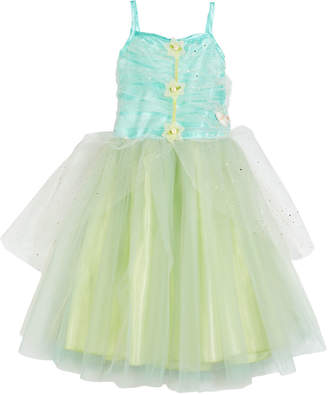 Souza! Josiane Fairy Dress Costume w/ Wings & Halo Crown, 3-4 Years
