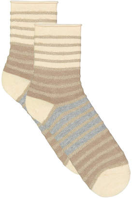 Lemon Noble Chenille Crew Sock