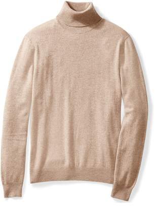 Buttoned Down Men's 100% Cashmere Turtleneck Sweater Sweater