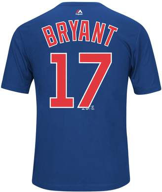 Majestic Chicago Cubs Kris Bryant Synthetic Player Name and Number Tee - Men