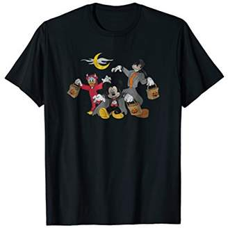 Disney Mickey goofy Donald Halloween Squad T-shirt