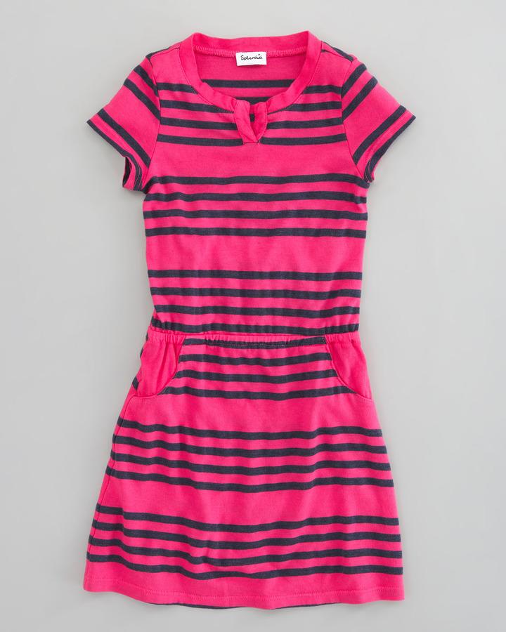 Splendid Littles Capri Striped Dress, Sizes 4-6X
