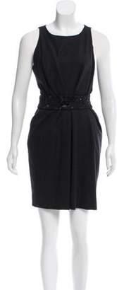 J. Mendel Belted Mini Dress Belted Mini Dress