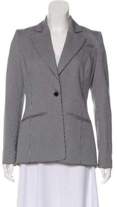 Altuzarra Check Notch-Lapel Coat
