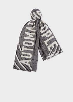 Paul Smith R.E.M. + Album Cover Jacquard Scarf