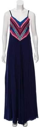 Mara Hoffman Embroidered Maxi Dress w/ Tags