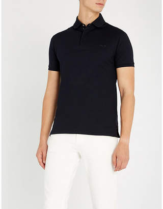 Ralph Lauren Purple Label Regular-fit cotton-piqué polo shirt