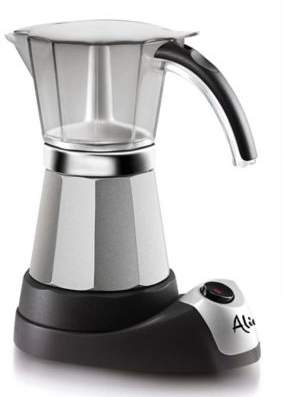 Delonghi De'Longhi Alicia EMK6 Electric Moka Espresso Maker