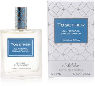 Pour Le Monde Together Certified 100% Natural Eau de Parfum, 1.7 oz