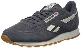 d6bb209e045 Reebok Men s Cl Leather Mu Gymnastics Shoes White