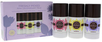 LAVANILA Freshly Picked Mini Deodorant Trio 0.90oz Deodorant Stick Vanilla