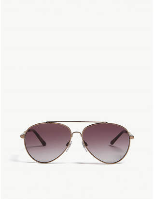Burberry BE3092Q pilot-frame sunglasses