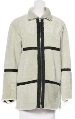 Chanel Shearling Reversible Coat