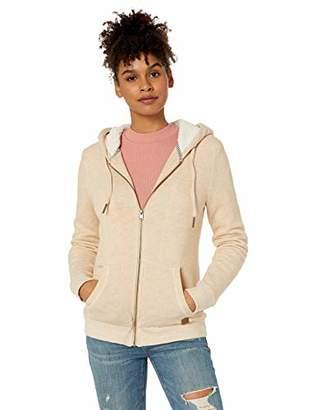 Roxy Junior's Trippin Sherpa Zip-Up Fleece Sweatshirt