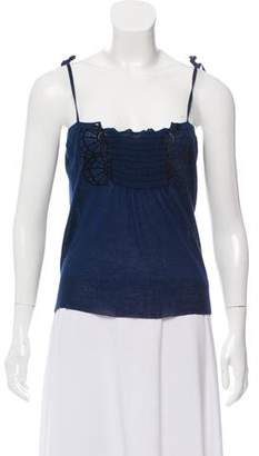 Gucci Sleeveless Cashmere Blend Top w/ Tags