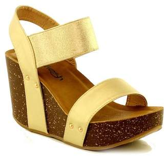 Refresh Mara Wedge Sandal $55.99 thestylecure.com