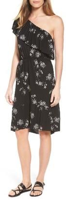Women's Lucky Brand One-Shoulder Sundress $89.50 thestylecure.com