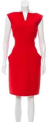Alexander McQueen Knee-Length Sheath Dress
