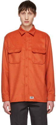 Dickies Construct Orange Flannel Shirt