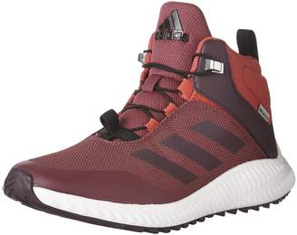 adidas Kid's Girl's FortaTrail Mid Running Shoes, Mystery Ruby/Red Night/Energy Pink