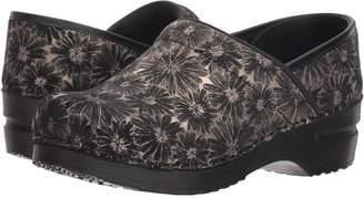 Sanita Professional Daisy Metallic Women's Clog Shoes