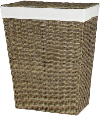 Creative Bath Capri Rattan Hamper With Liner