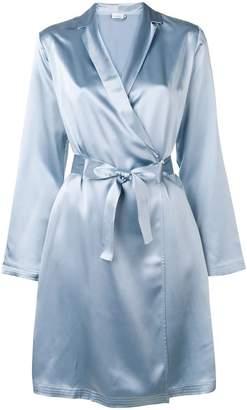 La Perla satin kimono robe