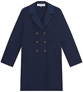 Gerard Darel Melville Trench Coat, Navy Blue