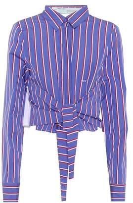 Off-White Striped cotton shirt