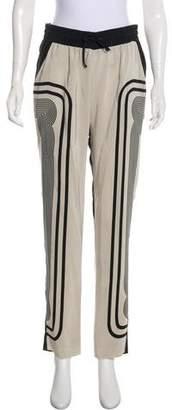 Ohne Titel Silk Straight-Leg Pant