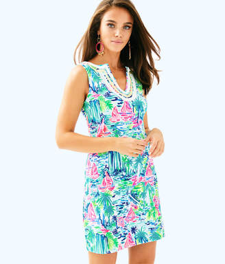 Lilly Pulitzer Womens Harper Stretch Shift Dress