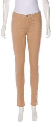 J Brand Mid-Rise Denim Leggings
