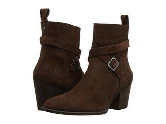 Hunter Refined Strap Boot Suede Women's Boots