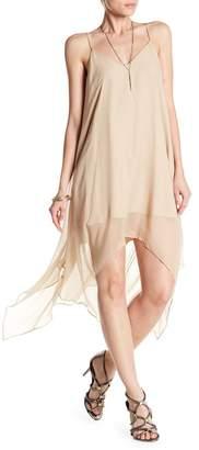 Haute Hippie Wild Heart V-Neck Silk Dress