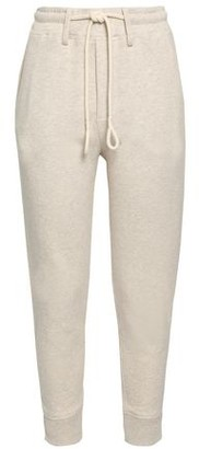 Vince Melange French Cotton-terry Track Pants