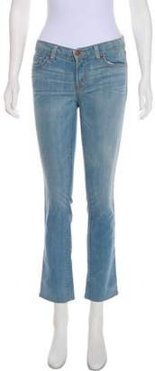 J Brand Pencil Leg Mid-Rise Jeans