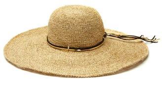 Mar Y Sol Bianca Floppy Hat $109 thestylecure.com