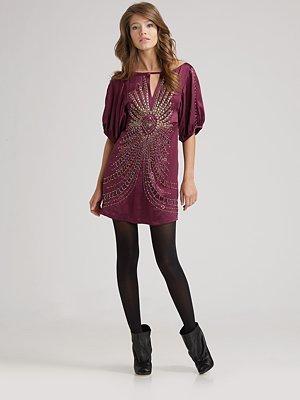 Nanette Lepore Darjeeling Silk Dress