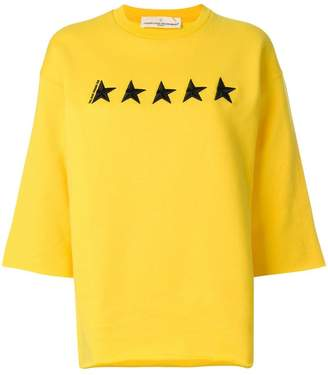 Golden Goose star embroidered sweater
