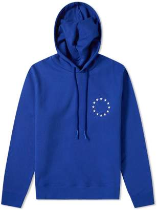 Etudes Klein Europe Embroidered Stars Hoody