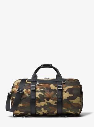 Michael Kors Kent Camouflage Nylon Convertible Duffel