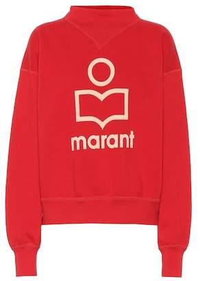 Etoile Isabel Marant Isabel Marant, Étoile Moby printed cotton sweatshirt